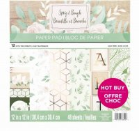 "Craft Smith - Sprig & Bough - 12""x12"""