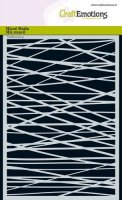 Lines Grid Crosswise - Stencils - CraftEmotions