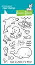 Critters in the Sea (Meerestiere)- Stempel