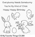 Hoppy Friends - Stempel - MFT
