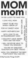 All About Mom - Stempel - MFT