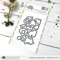 Dandelion Wishes - Creative Cuts - Mama Elephant