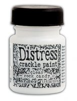 Distress Crackle Paint - Clear - Ranger - Mini
