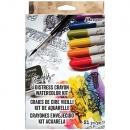 Distress Crayon Watercolor Kit