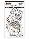 Creative Dyary  Dy Cuts - Black/White - Dylusions