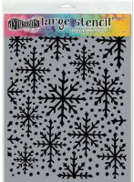 Snowflake Large - Stencil - Dylusions