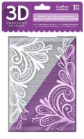 Ornate Lace - 3D Embossing Folder - Crafters Companion
