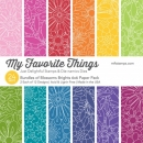 "My Favorite Things - Bundles of Blossoms Brights - 6""x6"""