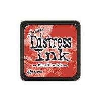 distress ink fired brick
