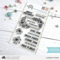 Garden Frame - Clear Stamps - Mama Elephant