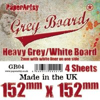 Grey Board - PaperArtsy