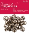 Jingle Bells - Silber - Docrafts
