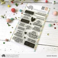 Good Reads - Clear Stamps - Mama Elephant