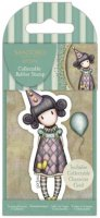 Gorjuss Collectable Mini Rubber Stamp - No.69 Pierrot