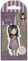 Gorjuss Collectable Mini Rubber Stamp - No.74 Starlight