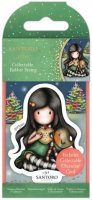 Gorjuss Collectable Mini Rubber Stamp - No.81 Christmas Friend
