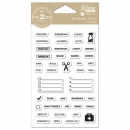 Clear Stamps - Grocery
