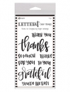 Ranger - Letter It - Clear Stamps - Thank You