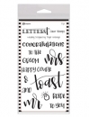 Ranger - Letter It - Clear Stamps - Wedding