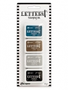 Ranger - Letter It - Stamping Ink Set #1