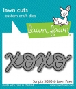 Scripty XOXO - Lawn Cuts