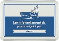 lawn fawn dye ink blue jay