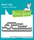 Ocean Wave Accents - Lawn Cuts