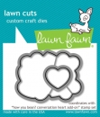 How You Bean? Conversation Heart Add-On - Lawn Cuts
