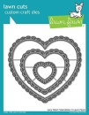 Lacy Heart Stackables - Lawn Cuts