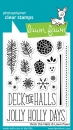 Deck the Halls - Stempel