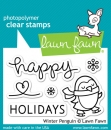 Winter Penguin - Stempel