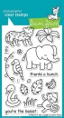 Critters in the Jungle - Stempel