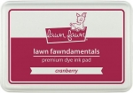 lawn fawn - cranberry