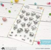 Little Fairy Agenda - Clear Stamps - Mama Elephant