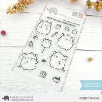 mama-elephant-zodiac-mouse-clear-stamps