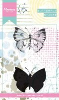 Tiny's Butterfly 1 - Cling Stamps - Marianne Design