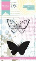 Tiny's Butterfly 2 - Cling Stamps - Marianne Design - Kopie