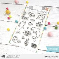 Marine Friends - Clear Stamps - Mama Elephant