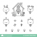 A Cookie Christmas - Clear Stamps - Mama Elephant