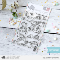 Me And My Dragon - Clear Stamps - Mama Elephant