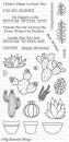 Sweet Succulents - Stempel