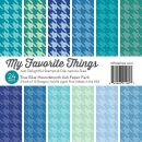 "True Blue Houndstooth - 6""x6"" - My Favorite Things"