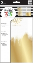 Create 365 - The Happy Planner - CLASSIC - Dashboards - Gold Foil