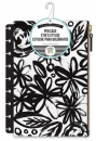 Create 365 - The Happy Planner - Snap In Pen Case - Black Flowers