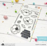 poppy-flowers-mama-elephant-clear-stamps-stempel