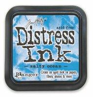 distress ink - salty ocean