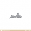 Smile Script - Creative Cuts - Mama Elephant