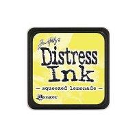 distress ink - squeezed lemonade