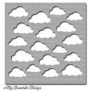 Cloudy Day - MIX-ables - Schablone