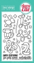 More Party Animals - Stempel